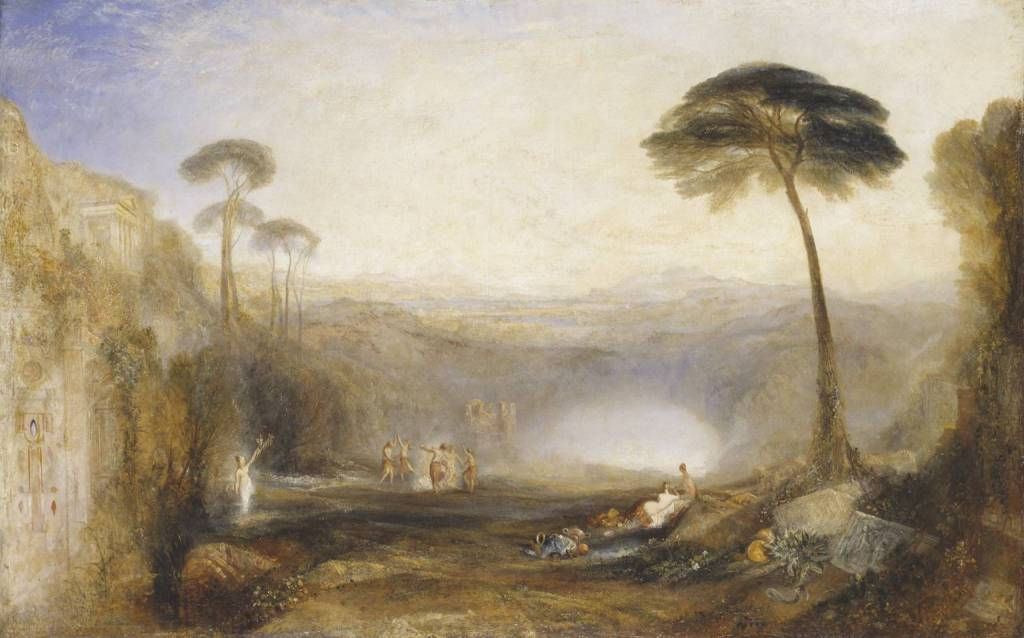JMW Turner's The Golden Bough, 1834